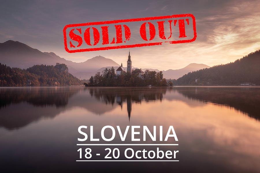 Slovenia Photography Tour 2019